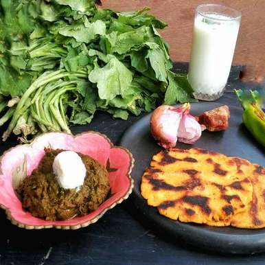 Photo of Sarson da saag by Satvinder Hassanwalia Chandhok at BetterButter
