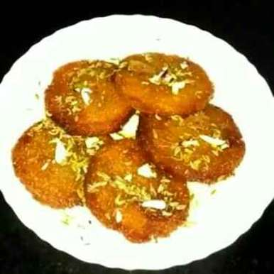 Bread ke malpue recipe in Hindi,बेड के मालपुए, Savita Lakhera