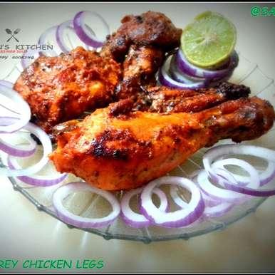 Photo of A very firey Chicken Legs by Sayan Majumder at BetterButter