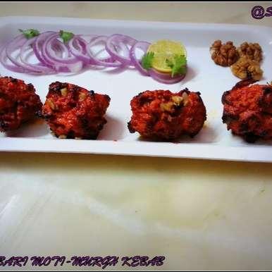 Photo of Daarbari Moti Murgh Kebab  by Sayan Majumder at BetterButter