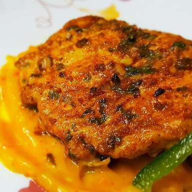 Photo of Grilled chicken with mango sauce by Sayan Majumder at BetterButter