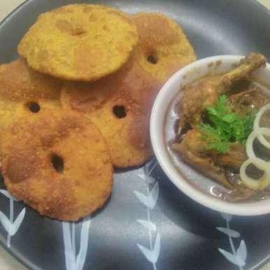 Photo of Kombdi vade/ Malvani vade by Seema jambhule at BetterButter