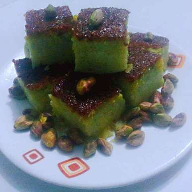 Photo of Pista Pudding by Shaheda T. A. at BetterButter