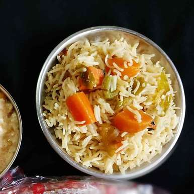 Veg Pulav recipe in Bengali,Veg Pulav, Shaheda T. A.