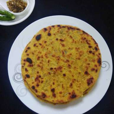 Photo of Missi Chapati/Besan Chapati by Shaheda T. A. at BetterButter
