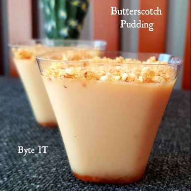 Photo of BUTTERSCOTCH PUDDING by Byte IT at BetterButter