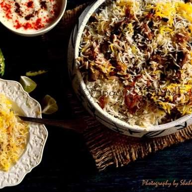 Photo of Hyderabadi Mutton Dum ki Biryani by Shaheen Ali at BetterButter