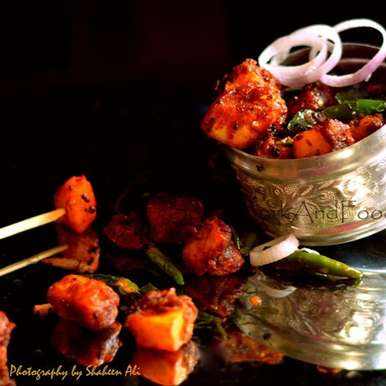 Photo of Paneer 65 by Shaheen Ali at BetterButter