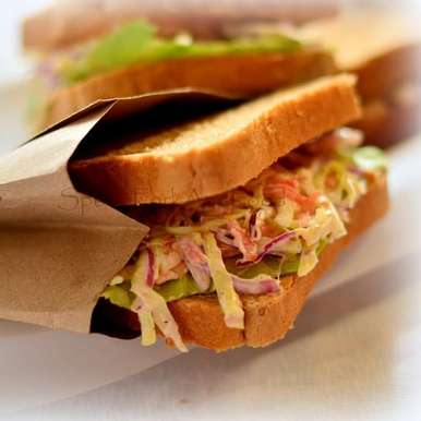 Photo of Coleslaw Sandwich by Shaheen Ali at BetterButter