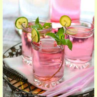 Photo of Pink Lemonade by Shaheen Ali at BetterButter