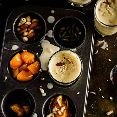 Photo of Honey & Peach Lassi by Shaheen Ali at BetterButter