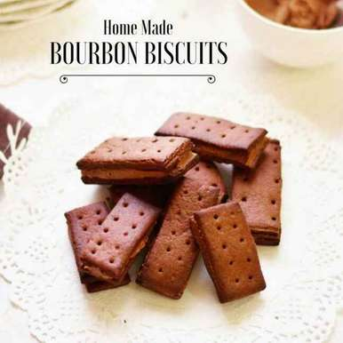 Photo of Homemade Bourbon Biscuits by Shaheen Ali at BetterButter