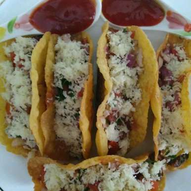 Photo of Veg mexican beans tacos by Shakuntla Tulshyan at BetterButter