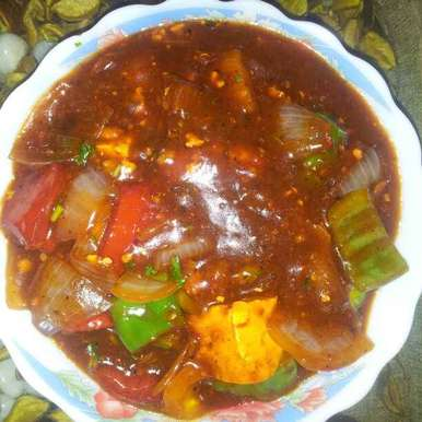 How to make chili paneer at home