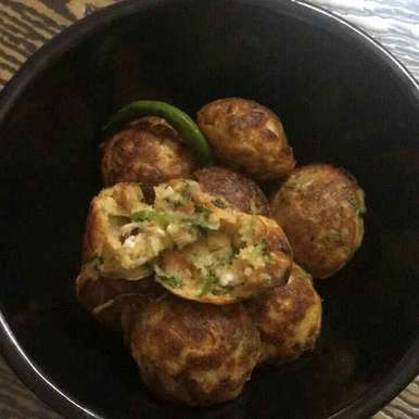 Photo of Moong dal n vegetable appe by Shalini Agarwal at BetterButter