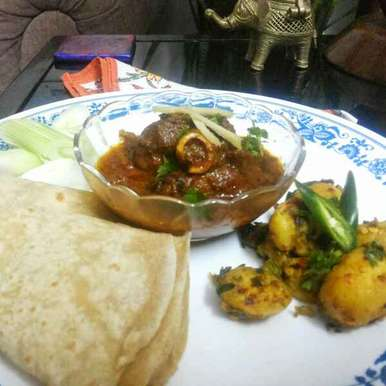 Photo of Bhuna Meat by Shalini Digvijay at BetterButter