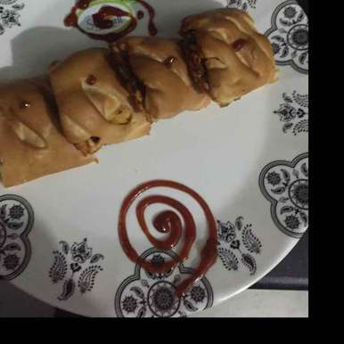 paneer cheese rolls with pizza sauce, How to make paneer cheese rolls with pizza sauce