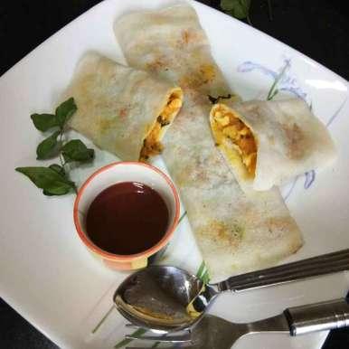Photo of Mini chicken mashala dosa by Shampa Das at BetterButter