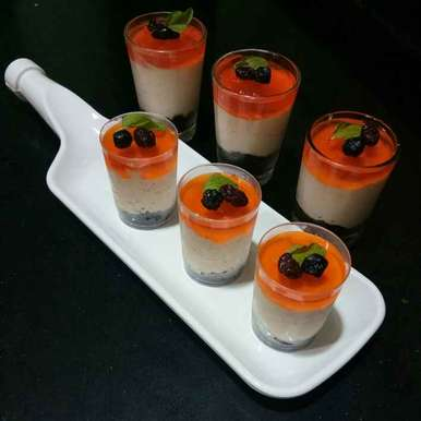 Photo of Orange Mousse by Shampa Das at BetterButter