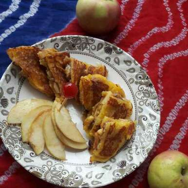 Photo of Eggless French fruit sandwich by shanta singh at BetterButter
