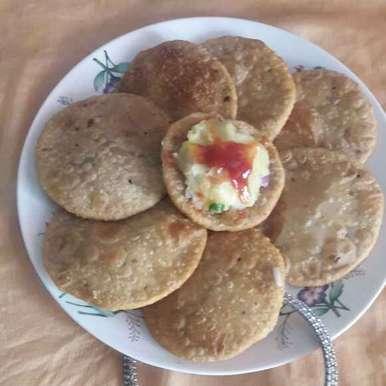Sattu ki kachori (aate wali) recipe in Hindi,सत्तू की कचौरी (आटे वाली), shanta singh