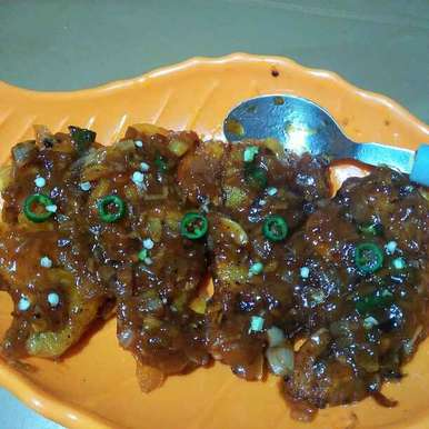 Photo of Crispy Honey Chilli Bombil (bombay duck) by Shaoly Das Roy at BetterButter