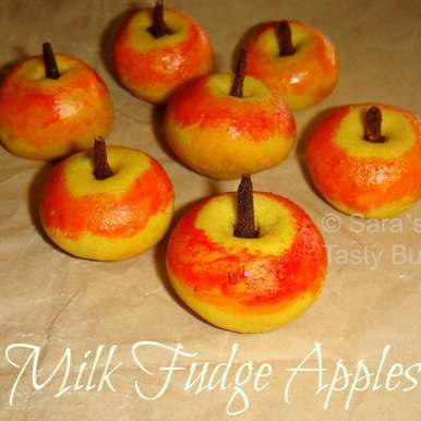 Photo of Milk Fudge Apples  by sharanya palanisshami at BetterButter