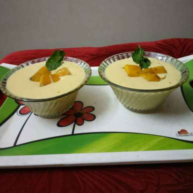 Photo of Mango mousse by Sharmila Dalal at BetterButter