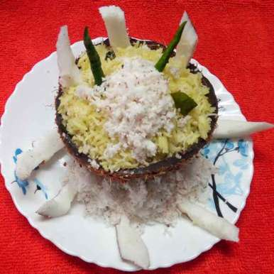 Photo of Coconut rice by Sharmila Dalal at BetterButter