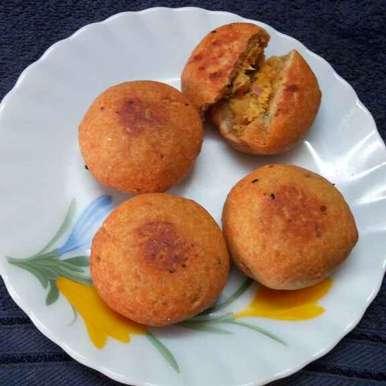 Litti recipe in Bengali,লিট্টি, Sharmila Dalal