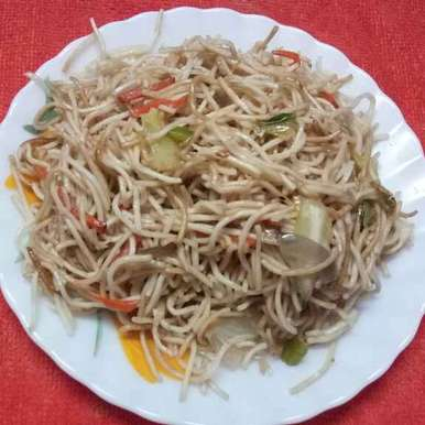 Vej chow recipe in Bengali,ভেজ চাউ, Sharmila Dalal