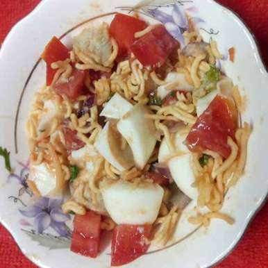 Photo of Egg chat by Sharmila Dalal at BetterButter