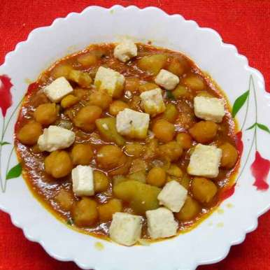 Photo of Paneer chole masale by Sharmila Dalal at BetterButter