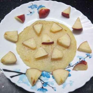 Photo of Apple pancake by Sharmila Dalal at BetterButter
