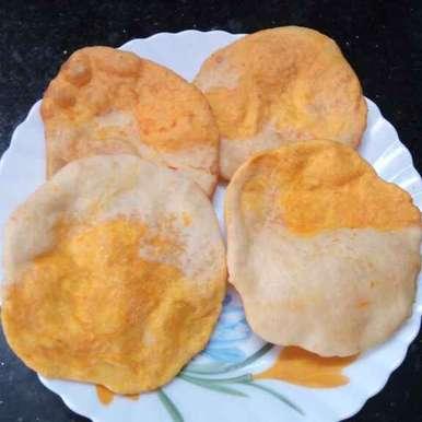 Two- in - one luchi recipe in Bengali,টু ইন ওয়ান লুচি, Sharmila Dalal