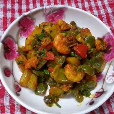 Photo of Capsi chingri by Sharmila Dalal at BetterButter