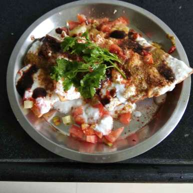 Photo of Chatpati chat (leftover sukhi chapati) by Shashi Pandya at BetterButter