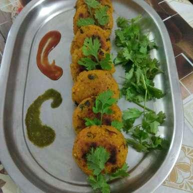 Poha aalu tikki recipe in Hindi,पोहा आलू टिक्की, Shashi Pandya