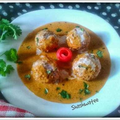 Photo of Shahi gobhi kofta curry by Shashwatee Swagatica at BetterButter