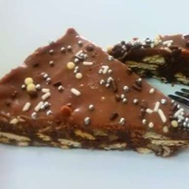 Photo of Marie Biscuit no bake cake by Sheena Omana Narayanan at BetterButter