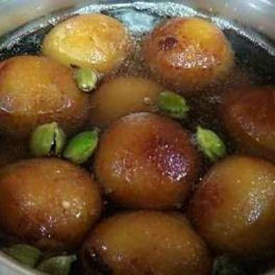 Photo of Suji ke gulab jamun by Sheetal Sharma at BetterButter