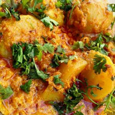 Photo of Hot and Spicy potato masala South Indian style by Shikha Gupta at BetterButter
