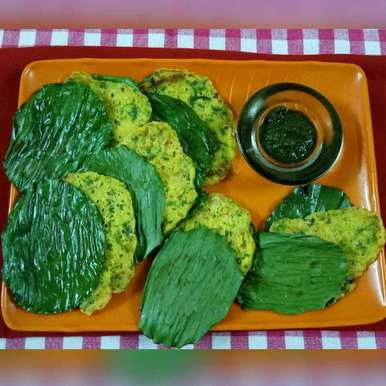Green Corn Panki, How to make Green Corn Panki