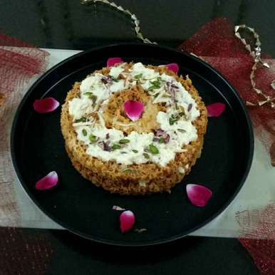 Ghevar recipe in Hindi,घेवर, Shilpa gupta