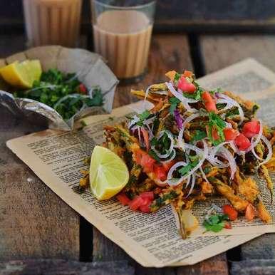 Bhindi chaat, How to make Bhindi chaat