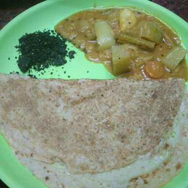 Photo of Kothumai dosa, ellu podi by Shoba Jaivin at BetterButter