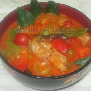 Photo of THAI RED CHICKEN CURRY by Shobha Keshwani at BetterButter