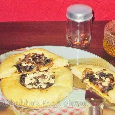 Photo of BIALYS ( Polish Bread with Caramelized Onion Filling) by Shobha Keshwani at BetterButter