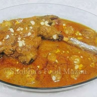 Photo of MASALA RAAN ( Slow grilled leg of mutton topped with rich spicy gravy ) by Shobha Keshwani at BetterButter