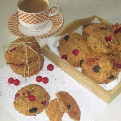 Photo of HEALTHY SUGAR FREE OATS AND FRUIT COOKIES by Shobha Keshwani at BetterButter